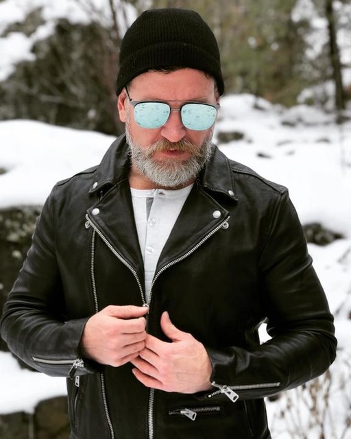 editorinbeard - Wick Leather Biker Jacket