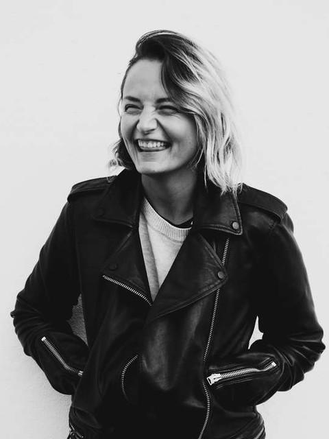 Nicole - Balfern Leather Biker Jacket
