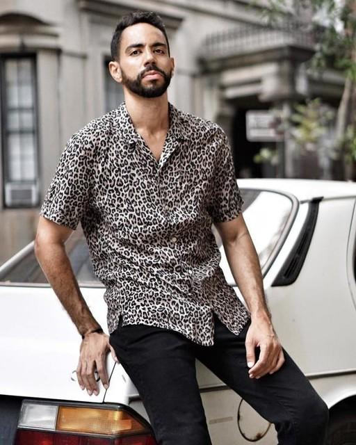 hisootd - Leopardtone Shirt