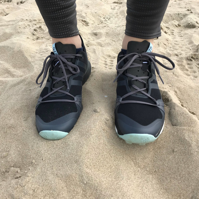 Walking on the beach in my new #terrex shoes #weekendvibes #outdoor