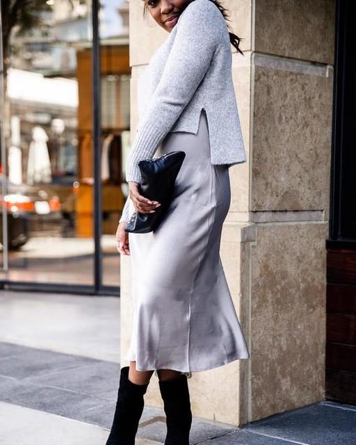 itscamillek - Vestido con Suéter Tierny