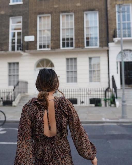 soleilroth - Elodie Halftone Dress