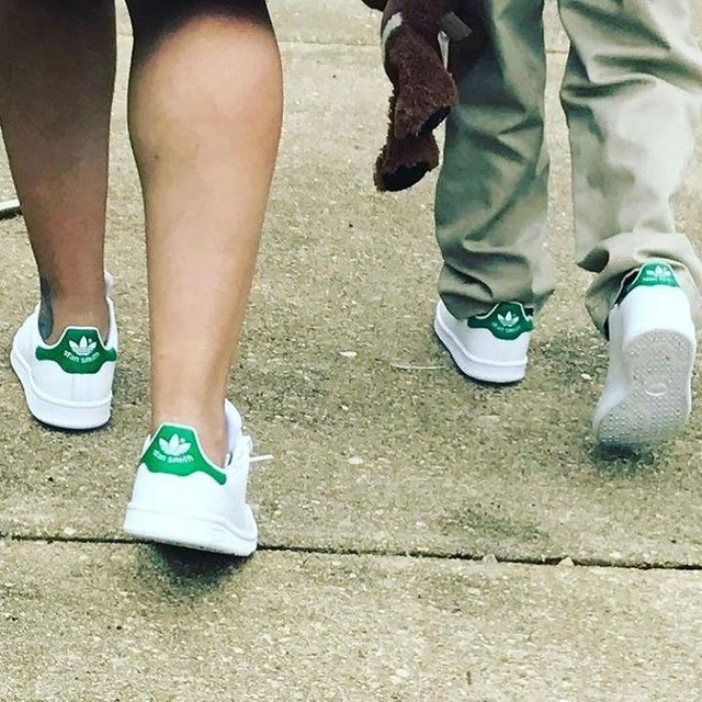 Son son and I twinning... #stansmith #adidas