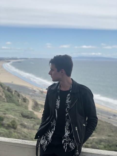 Rokas Rimaitis - Kaho Leather Biker Jacket