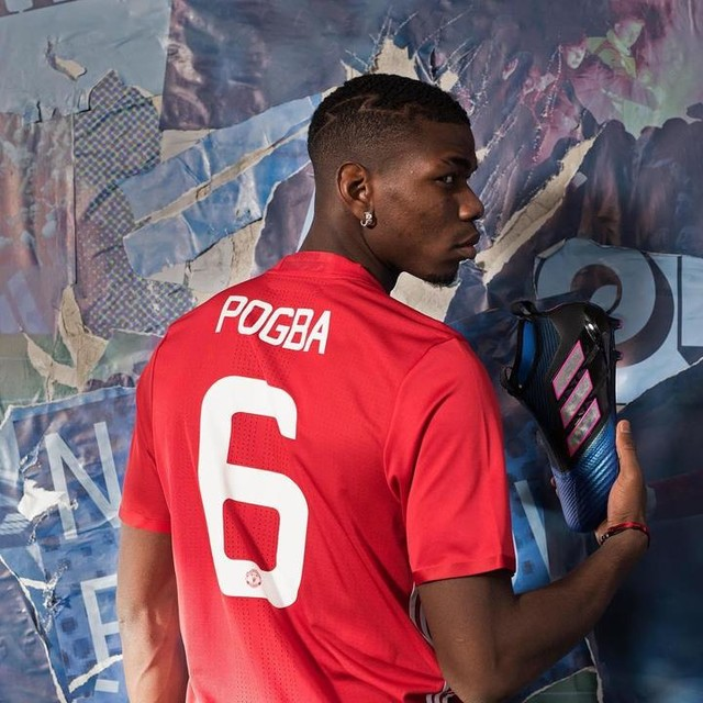 Match day. The time for creators. He's @paulpogba. You be you. #ACE17 #NeverFollow