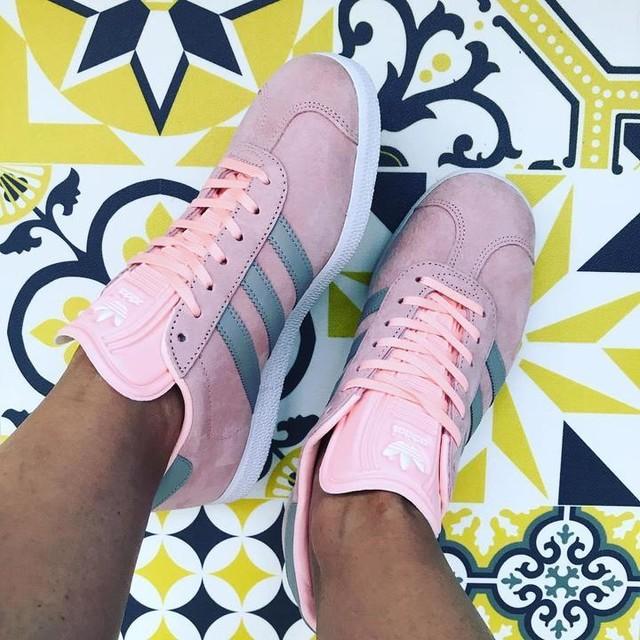 On en parle de mes new babes #gazelle #adidas qui déboite leur race ?!?!? #soldes #haul #craquage #shopping #mercicheri