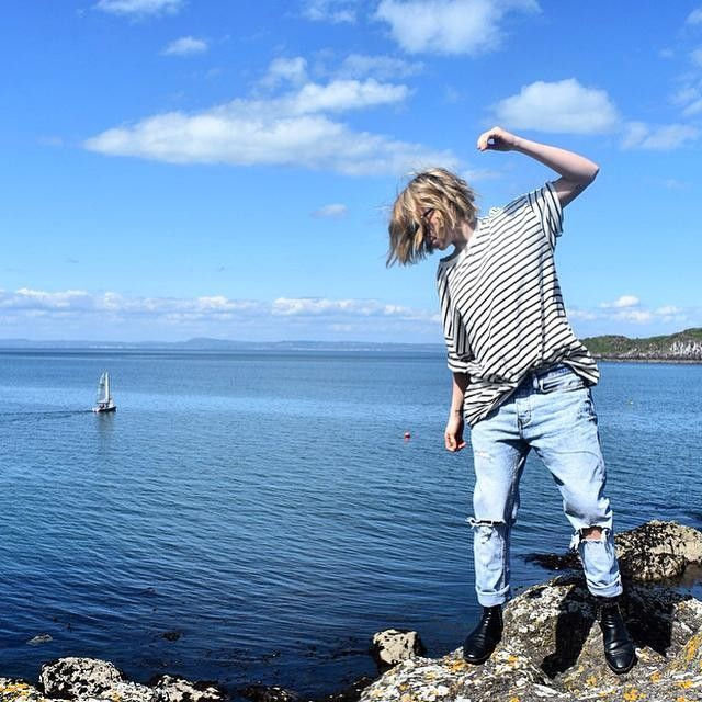 Tegan Whybrow - T-Shirt Kleve