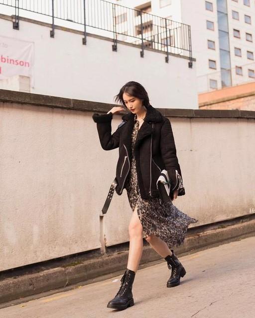 hellodah_ - Claria Leopard Dress