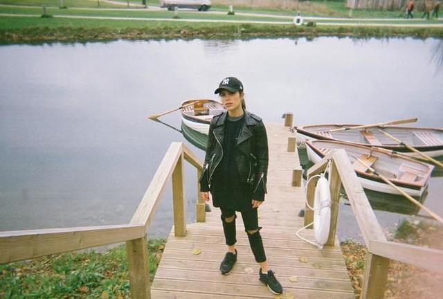 Phoebe Torrance - Balfern Leder Bikerjacke