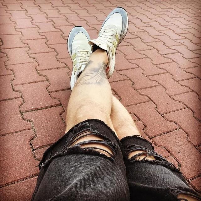 #happy #loveislove #nice #adidas #summer #tattoo #badpiratetattoo #hot #hotter #love #fashion #sun @badpiratetattoo @adidasoriginals