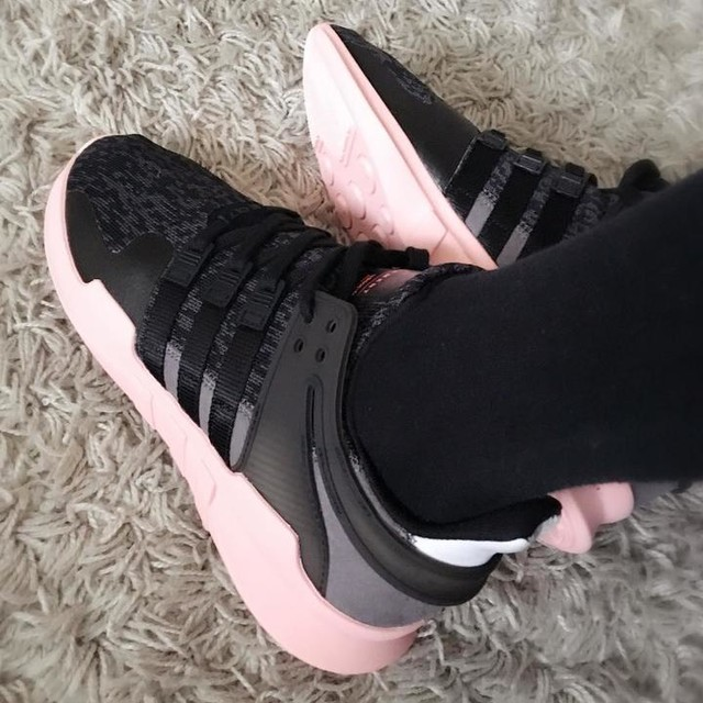 #adidas #adidaseqt #adidastrainers #pink #grey #black 😍