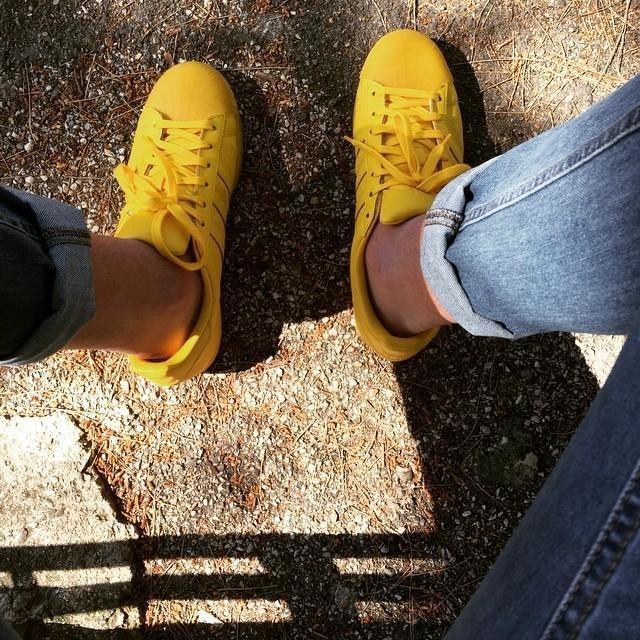 #yellow #superstar #color #adicolor 🐣